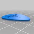 Tim_Dunlop_pick.png Télécharger fichier STL gratuit Collection unique de plectres pour guitare • Design pour imprimante 3D, Ender3PrintingFan1
