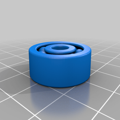 Download free 3D printing templates 636 BB pellet bearing with BBs, Ender3PrintingFan1