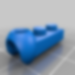 Lego_ModiBot_adapter_1.stl Download free STL file Interlocking Brick System to ModiBot adapter. • Design to 3D print, Ender3PrintingFan1