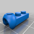 Lego_ModiBot_adapter_1.png Download free STL file Interlocking Brick System to ModiBot adapter. • Design to 3D print, Ender3PrintingFan1