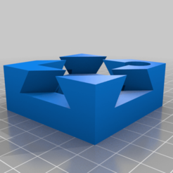 Download free STL file Impossible Dovetail Box (with room for 12/13mm magnetic marble and two 12x4mm disk magnets) • 3D printing template, Ender3PrintingFan1