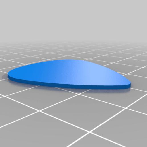 Blank_351_pick_fender.png Télécharger fichier STL gratuit Collection unique de plectres pour guitare • Design pour imprimante 3D, Ender3PrintingFan1