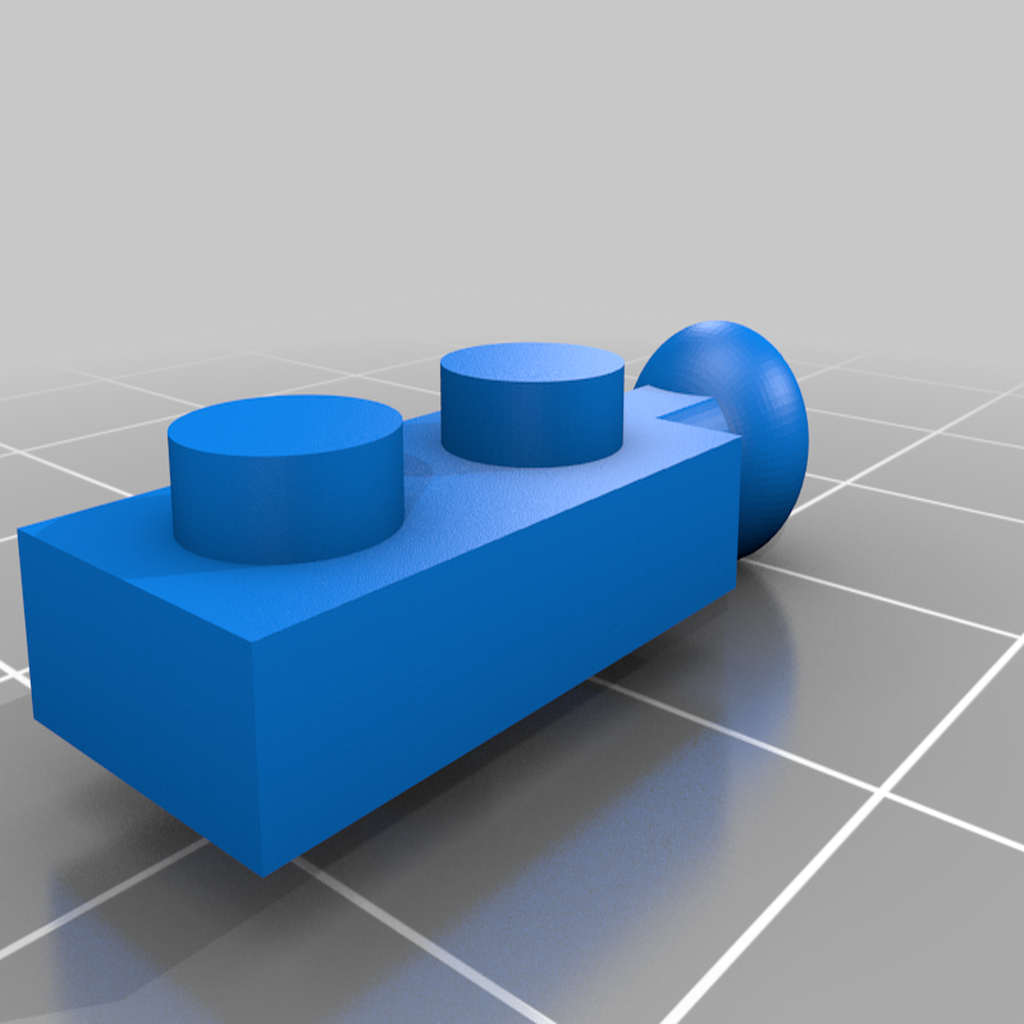 Lego_ModiBot_adapter_3.png Download free STL file Interlocking Brick System to ModiBot adapter. • Design to 3D print, Ender3PrintingFan1