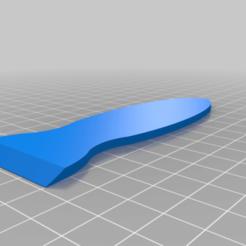 Télécharger fichier STL gratuit Construire un racleur de plaques • Modèle à imprimer en 3D, Ender3PrintingFan1