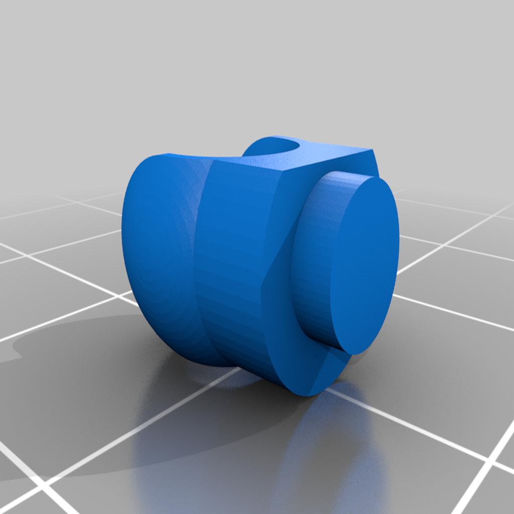 Lego_ModiBot_adapter_5.png Download free STL file Interlocking Brick System to ModiBot adapter. • Design to 3D print, Ender3PrintingFan1
