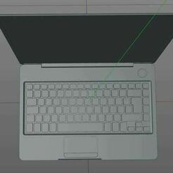 6.JPG Download free STL file Laptop • Model to 3D print, morganne-farrah