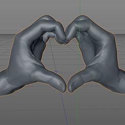 2.JPG Télécharger fichier GCODE gratuit Le cœur dans la main • Plan à imprimer en 3D, morganne-farrah