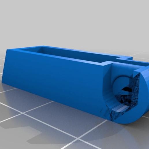 10efe7d89f565fc2f1944e2facfafcc2.png Download free STL file logitech diNovo edge keyboard feet • 3D printing template, SPLIT007