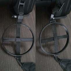 Download free 3D printer designs double sided 67mm cap holder, SPLIT007