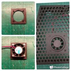 20170909_230632.jpg Download free STL file reducer - 50 to 40 mm fan for Electronics Cover • Object to 3D print, SPLIT007
