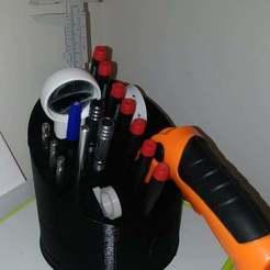 Descargar diseños 3D gratis Portaherramientas, SPLIT007