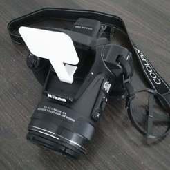 P_20180530_154716_vHDR_Auto.jpg Download free STL file Nikon P900 flash diffuser • 3D printing model, SPLIT007