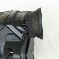 P_20180623_165501_vHDR_Auto.jpg Download free STL file Nikon P900 eyecup • Object to 3D print, SPLIT007