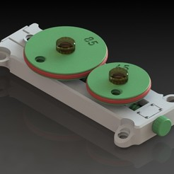 01.jpg Télécharger fichier STL Transmission par friction - Maquette didactique • Plan à imprimer en 3D, sitetechnofr
