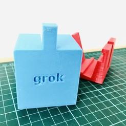 IMG_2274.JPG Download STL file 5 in 1 Cellphone grip - 5 in 1 cellphone holder • 3D printing design, Gonstock