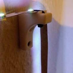 Download free STL file LED strip light holder • 3D print design, markusg