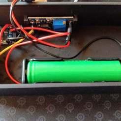 IMG_20190427_145608066.jpg Download free STL file Battery/USB - solder fume extractor - w/ electronics holders • 3D printing model, markusg