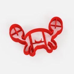 cortante cangrejo img.png Télécharger fichier STL coupeuse de biscuits au crabe • Plan à imprimer en 3D, Argen3D