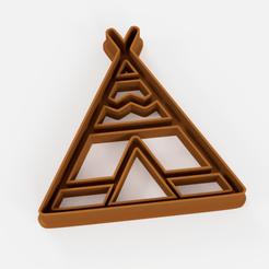 tipi oficial.png Télécharger fichier STL teepee a l'emporte-piece - teepee a l'emporte-piece • Modèle à imprimer en 3D, Argen3D