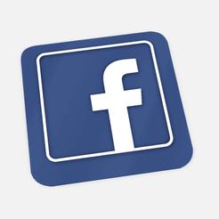 Descargar modelos 3D para imprimir cartel facebook red social para negocios e influencers - facebook poster social network for business and influencers, Argen3D