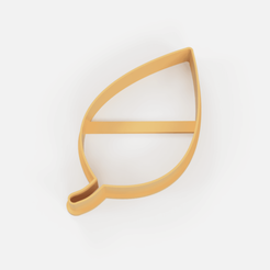 hoja cortante.png Télécharger fichier STL moule à biscuit en feuille • Modèle pour imprimante 3D, Argen3D