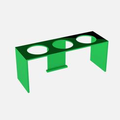 portatubos de ensayo.png Télécharger fichier STL porte-éprouvettes • Design pour impression 3D, Argen3D
