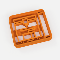 cortante impresora 3d.png Download STL file cookie cutter 3d printer • 3D printer object, Argen3D