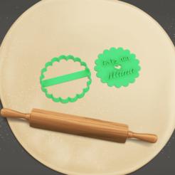 feliz dia mama mod 4 - presentacion.png Télécharger fichier STL happy day maman cutter moule à biscuits MOD 4 • Modèle pour impression 3D, Argen3D