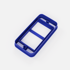 cortante iphone.png Download STL file iphone cookie cutter cookie cutter • 3D print design, Argen3D