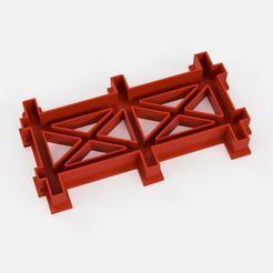 Download STL file gate barrier fence cookie cutter • 3D printable object, Argen3D