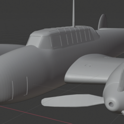 Download free STL file Messerschmitt Bf 110C • 3D printing template, marcellom