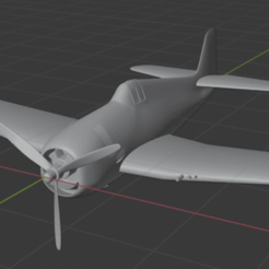 Download free STL file Grumman F6F Hellcat • 3D printer design, marcellom