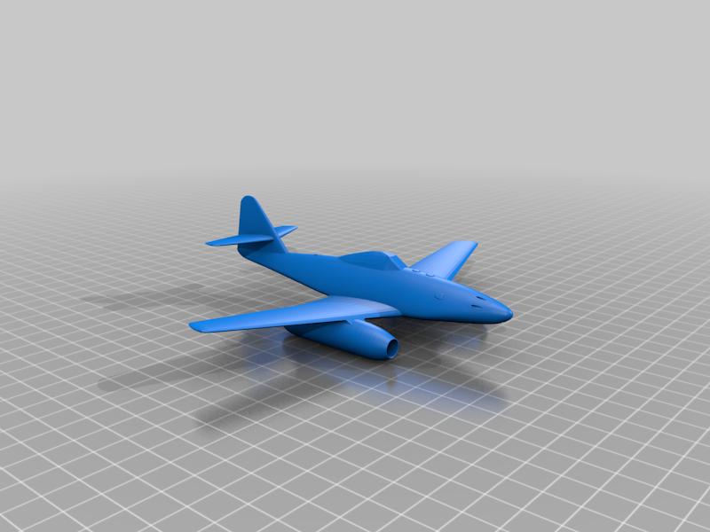 Messerschmitt_Me_262.png Télécharger fichier STL gratuit Messerschmitt Me 262 • Design à imprimer en 3D, marcellom