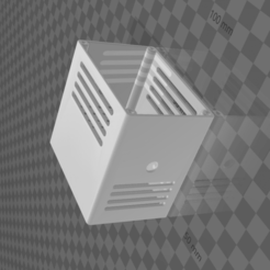 ventedbox.png Download STL file Vented Box • 3D printable model, madebymacht