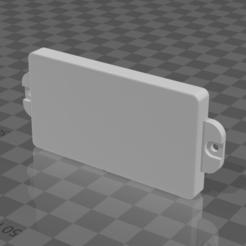 pickupplug.png Download free STL file Les Paul Pickup Plug • 3D printable object, madebymacht