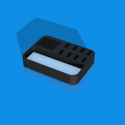 USB-Folder future 2.png Download free STL file SD and USB Holder Gen2 • 3D printable object, PrintingWizard