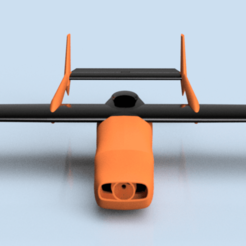 Cessna Skymaster v19 front up.png Download STL file Cessna 337 Skymaster • Design to 3D print, jonharman