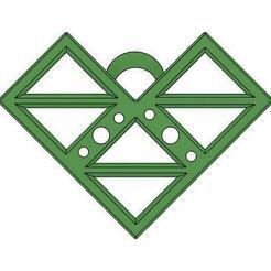 Triangle Doller v1.jpg Download OBJ file Ear + Neck • 3D printing template, gopinathv