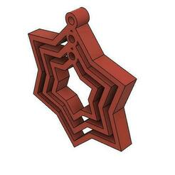 12 star ISo.jpg Download OBJ file Chakkra • 3D printable template, gopinathv
