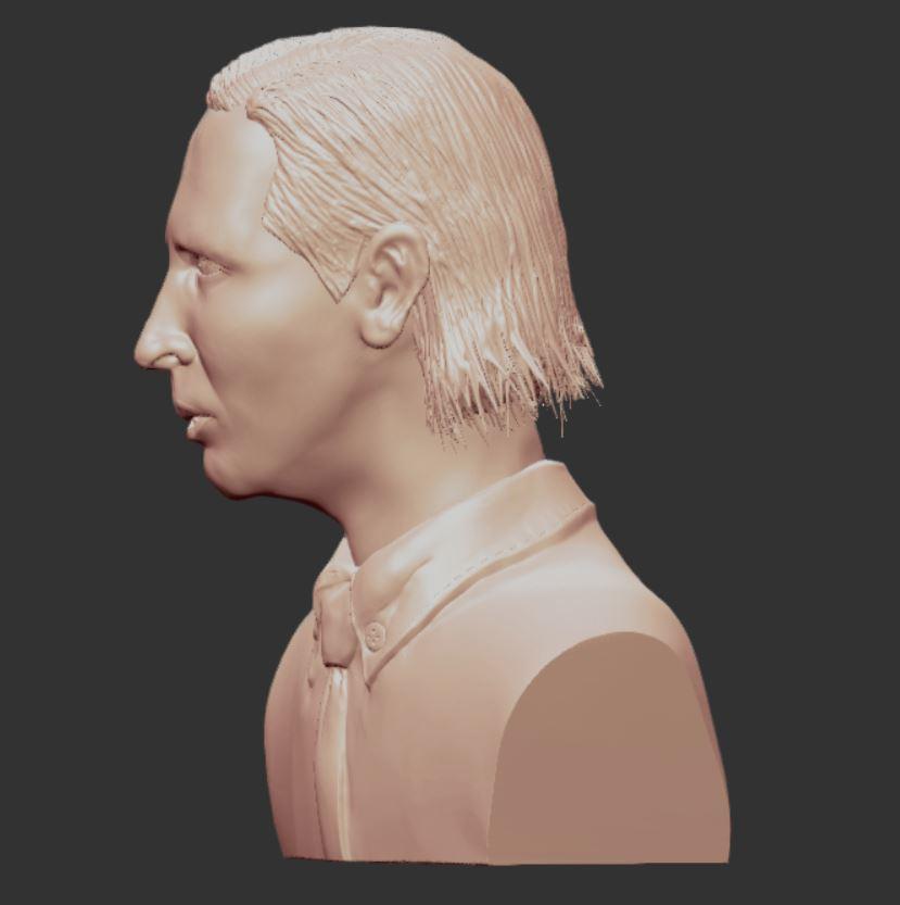 3.JPG Download OBJ file MARILYN MANSON • 3D printing template, penta_studio