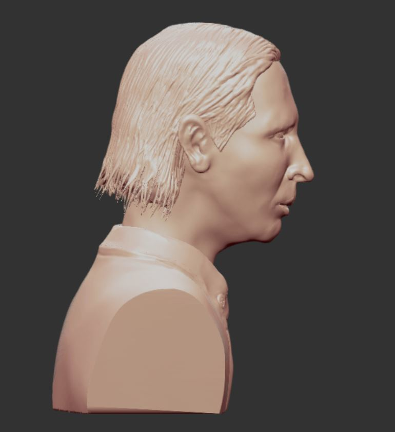 4.JPG Download OBJ file MARILYN MANSON • 3D printing template, penta_studio