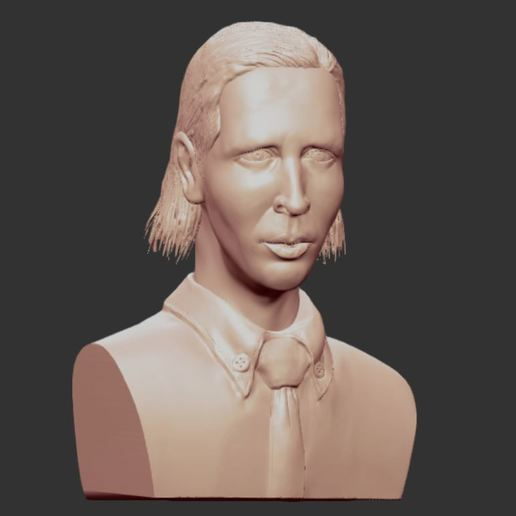 1.JPG Download OBJ file MARILYN MANSON • 3D printing template, penta_studio