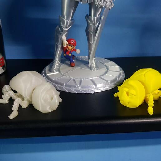 Download free STL file FLEXI BEETLE • 3D printer model, velazquez195423