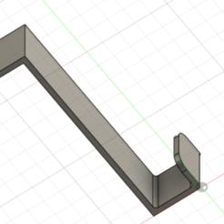 Immagine.png Télécharger fichier STL gratuit Crochet de porte • Plan à imprimer en 3D, Ermack
