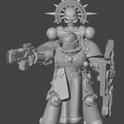 Indom Prime LT.jpg Télécharger fichier STL gratuit Untamable Luitenant Stabby McNasty v2 • Plan pour imprimante 3D, tcclaviger