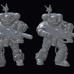 Download free STL file Xenos Hater Eradicating Melting Boys • 3D printer model, tcclaviger