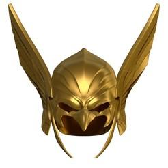 BPR_Composite.jpg Download OBJ file DC Hawkman Cosplay Helmet  • 3D printing template, 3DCraftsman