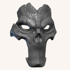 BPR_Composite6.jpg Download OBJ file Death Darksiders Cosplay Mask • 3D print design, 3DCraftsman