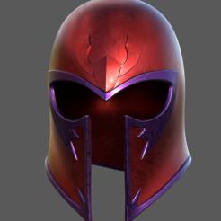 Screen Shot 2020-09-01 at 11.40.18 pm.png Download OBJ file X-MEN Magneto Helmet Cosplay Fan Art • 3D printing model, 3DCraftsman