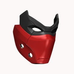 BPR_Composite4.jpg Download OBJ file Red Hood Outlaw - Mask Helmet Cosplay STL 3D Print file • 3D print object, 3DCraftsman